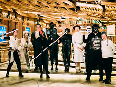 May the force be with you (Ding Yuin Shan) Tags: 3524summarit leicam9 starwars thelastjedi fan cosplay darth vader r2d2 yoda stormtrooper rey darthmaul