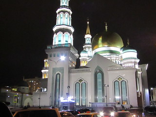 Sobornaya Mechet'=a mosque in Moscow