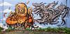 Piz  •  Nosbé (HBA_JIJO) Tags: streetart urban graffiti art france hbajijo wall mur painting skull aerosol peinture graff friche nosbé murale monster abandoned spray urbex monstro bombing urbain paris91 monstre creature marin charactere
