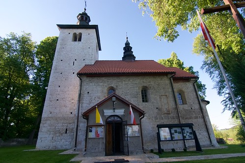 Kościół św. Mikołaja w Wysocicach od południa