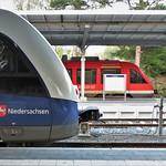 Erixx meets Regio DB   Bad Harzburg thumbnail