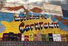 Objects May Be Larger Than They Appear (DetroitDerek Photography ( ALL RIGHTS RESERVED )) Tags: allrightsreserved 313 detroit urban downtown corktown mural sign painted brick wall welcome buildings michiganavenue city michigan midwest usa america detroitderek nothdr canon 5d mkii digital motown motorcity eagle street november 2017 tribute warrensky astro slows mercury