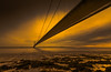 The Crossing (ANG Imagery) Tags: landscape architecture silhouette textures sunrise bridge river humber vanishingpoint