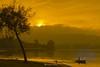 autumnal sunset (mercedescasal) Tags: autumnalsunset atardecer otoño autumn naturaleza nature galicia pescador fisher