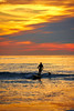 Sunset Cliffs: Paddleboarder (tltichy) Tags: board california cloudy coast glow nature ocean orange outdoors outside pacific paddle paddleboard paddleboarder recreation sandiego socal sunset sunsetcliffs surf surfer water wave