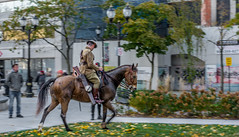 The 99th Annual Remembrance Day Garrison Parade & Service - Hamilton, Ontario. Lest We Forget (khopes) Tags: hfg hamiltonontario hamilton ontario canada northamerica d7100 nikon the99thannualremembrancedaygarrisonparadeservicehamilton ontariolestweforget gorepark gore park