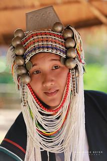 Femme Akha - Thaïlande