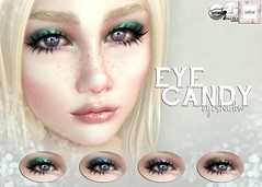 WarPaint* @ Candy Fair - Eye Candy eyeshadow (Mafalda Hienrichs) Tags: candy fair warpaint war paint applier makeup eyeshadow catwa lelutka second life