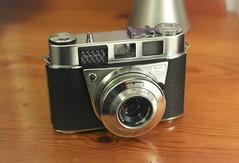 Camera of the Day - Kodak Retinette IB (Type 037) - Modified (TempusVolat) Tags: picmonkey kodak retinette ib 037 modified customised garethwonfor tempusvolat mrmorodo tempus volat gareth wonfor vintage 35mm film chrome