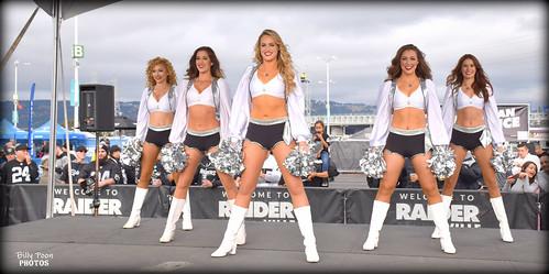 2017 Oakland Raiderettes @ Raiderville