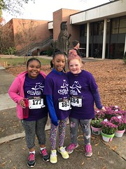 "Girls on the Run Club at USC Upstate 5K • <a style=""font-size:0.8em;"" href=""http://www.flickr.com/photos/137360560@N02/38516905572/"" target=""_blank"">View on Flickr</a>"