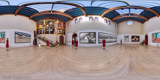 Viewing my Virtual Exhibit at the Diego Rivera Gallery, SF Art Institute