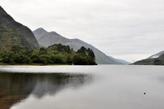 Glenfinnan, Denkmal Bonnie Prince Charlie am Loch Shiel