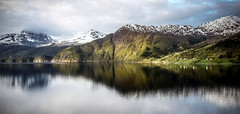 every crack and crinkle (10000 wishes) Tags: norway coastline reflections landscape seascape mountains scenic beautiful