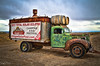 """Vintage Dodge Truck - """"2017 Total Solar Eclipse"""" (Explored) (SonjaPetersonPh♡tography) Tags: nikon nikond5600 oregon centraloregon rust rusty rustic vintage classic rustyrelic sign country madras vehicle flatbed dodge truck oldtruck olddodgetruck"""