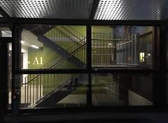 Trapphus (rotabaga) Tags: sverige sweden göteborg gothenburg chalmers windows fönster iphone