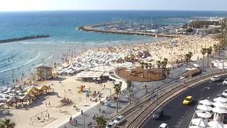 From Tel Aviv looking north.