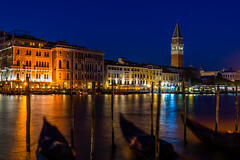 View from the Salute to the Campanile (tseehaus) Tags: venice campanile bluehour longtimeexposure