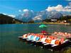 The Lago di Misurina in Belluno / Italy (Ostseetroll) Tags: geo:lat=4658388472 geo:lon=1225405292 geotagged ita italien misurinasee veneto misurina lagodimisurina beluno boote boats dolomiten dolomites dolomiti