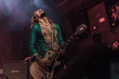Justin Hawkins (Voz y guitarras) - The Darkness (Samarrakaton) Tags: band banda rock glamrock live directo darkness bilbao antzoki 2017 guitar guitarra nikon d750
