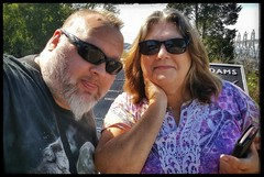 10/20/17 - Best Friends, Amy and I (CubMelodic23) Tags: october 2017 vacation trip alabama wheelerdam hdr selfportrait me dave amy friend