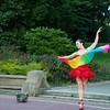 Stillness is the Move (thedailyjaw) Tags: nikon d610 50mm streetphotography nyc newyork newyorkcity washington square centralpark park walk colors dancer dance ballet folklorico movement swift pause tiptoe