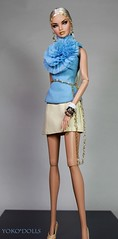 24K Erin (YOKO*DOLLS) Tags: erin convention fairytale nuface doll barbie blonde vanessa