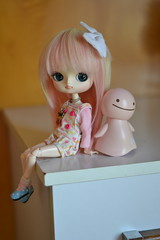 Taomi (-gigina-) Tags: doll dal pullip maretti angelipretty cute pink rewigged obitsu nikon d3100 50mm nohohon