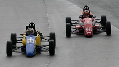 9d - Patten finds Linley on his case but will hold onto 3rd (Boris1964) Tags: 2006 clubformulaford northwest anglesey