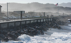 Pacifica King Tide 12-2017 (daver6sf@yahoo.com) Tags: pacifica kingtide pacificocean seawall