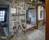 Castle Rushen, Castletown, Isle of Man. UK. (staneastwood) Tags: building architecture castletown isleofman im staneastwood stanleyeastwood castle stone stonewall chain prison display text wall shackle manacle