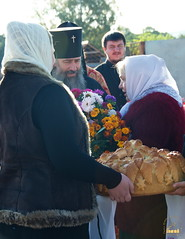 22. Первое богослужение в храме г.Святогорска 30.09.2014