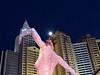 Dancing at New York, New York  (Explored) (morroelsie) Tags: lasvegas vegas dancingstatue nudestatueinpark nevada morroelsie