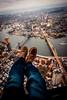 Brooklyn & Manhattan Bridge (Terry Moran Photography) Tags: new york city ny nyc big apple nikon d810 nikkor usa flynyon manhattan brooklyn bridge shoe selfie helicopter birds eye view sky skyline landscape cityscape structures