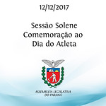 Sessão Solene em Comemoração ao Dia do Atleta