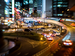 Crossover (takanorimutoh) Tags: japan tokyo cityscape lensbaby sweet35