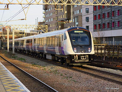 TFL Rail Adventra 345007 (SP Railways) Tags: railway trains uk british stratford class345 345007 emu tfl adventra