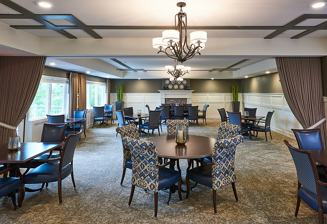 Senior Living Dining Room