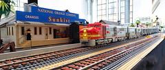 Santa Fe Alco PA #53 (Engineering with ABS) Tags: lego santafe railroad train alco pa 53 powerfunctions superchief