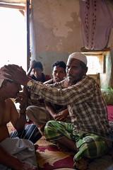 Socotri Healer (Rod Waddington) Tags: middle east yemen yemeni socotra island socotri healer patient group men house islam indoor interior