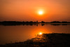 Sunset (sahulalit) Tags: sunset lake wate reflection sun orange color