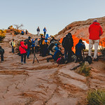 Rush hour at Mesa Arch thumbnail