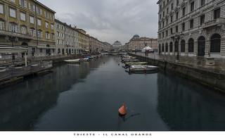 TRIESTE - IL CANAL GRANDE