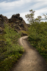 Path in Dimmuborgir / Polku Dimmuborgirissa (Olli Tasso) Tags: nationalpark kansallispuisto dimmuborgir path polku koivu birch lava laava nature outdoors luonto luontomatkailu matkailu matkustus travel travelphotography landscape maisema scenery beautiful serene