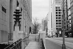 Art Deco (Jim Davies) Tags: veebotique olympus om10 ilford xp2 chromogenic c41 35mm film filmfilmforever slr blackandwhite bw monochrome usa america northamerica ohio columbus