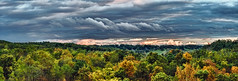 IMG_5038-40PRtzl1TBbLGER (ultravivid imaging) Tags: ultravividimaging ultra vivid imaging ultravivid colorful canon canon5dmk2 clouds stormclouds sunsetclouds scenic vista rural fields farm pennsylvania pa panoramic painterly evening autumn autumncolors twilight landscape sky