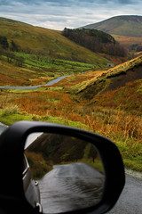 Trough of Bowland Autumn Drive 5. (alsimages1 - Thank you for 860.000 PAGE VIEWS) Tags: colours autumn valley mountain trees stream landscape panorama water green nature sky bowland forest photography road drive outdoors fells animals sheep viewpoint beauty