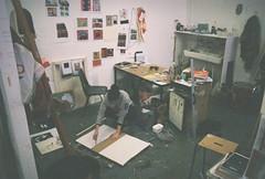 Katie Avey (DavidPato) Tags: art artist grays school city studio painting