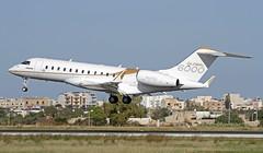 N543GL LMML 20-11-2017 (Burmarrad (Mark) Camenzuli) Tags: airline bombardier aerospace aircraft bd7001a10 global 6000 registration n543gl cn 9543 lmml 20112017