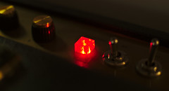 Amp (lars.gold) Tags: red light amplifier color cabinet